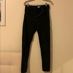plain Black Skinny Jean